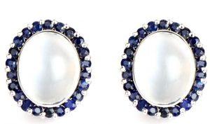 Moonstone & Blue Sapphire
