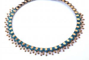 Egyptian-Styled Turquoise Necklace