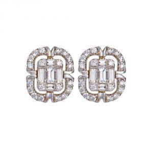Diamond and Gold Studs