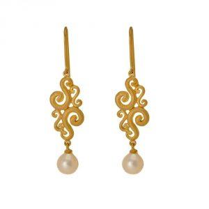 Pearl Gold Drops