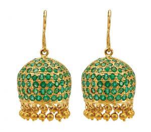 Emerald Jhumki