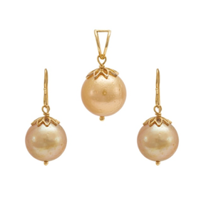 South Sea Pearl Pendant Set